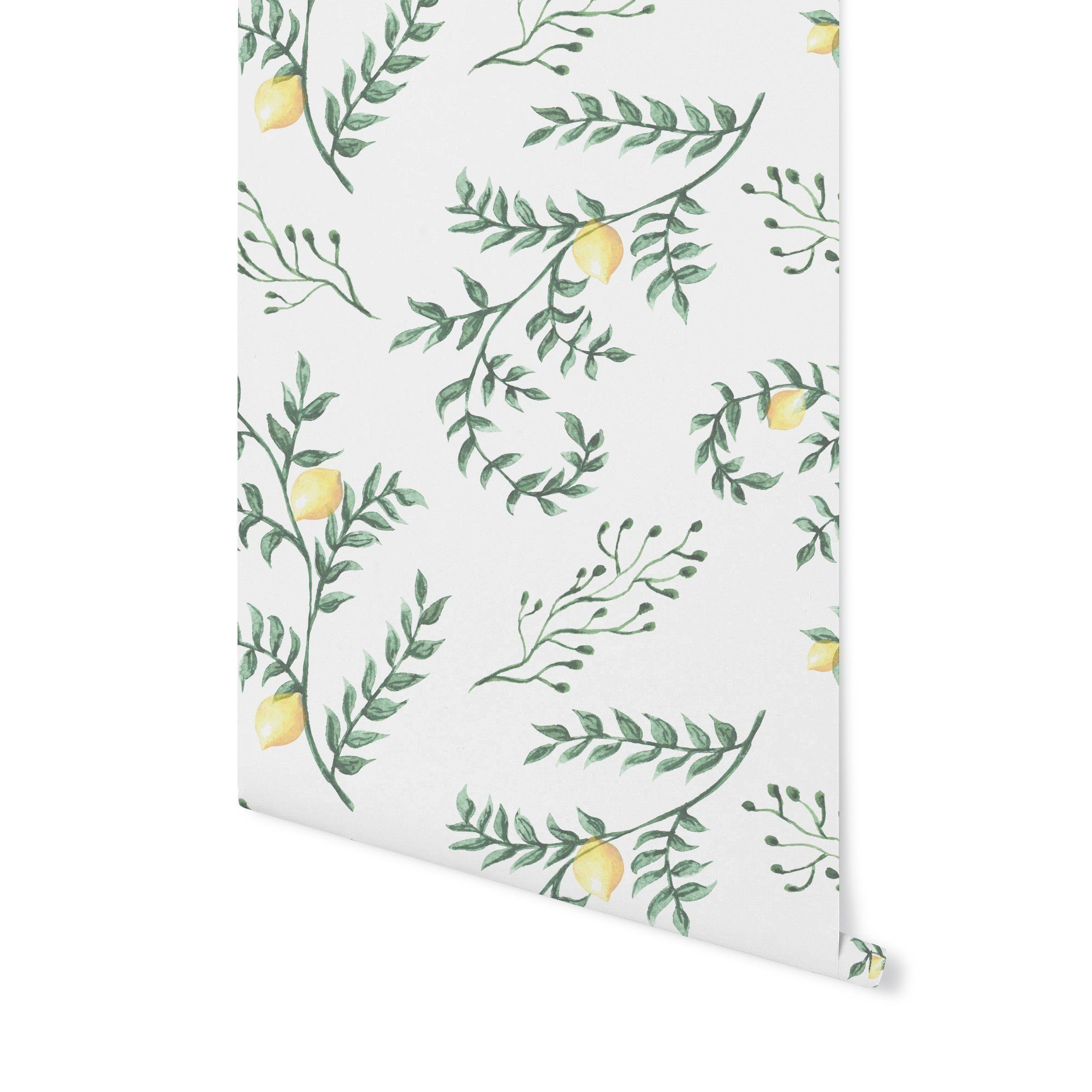 Lemon Verbena Lemon Verbena Peel And Stick Wallpaper Verbena