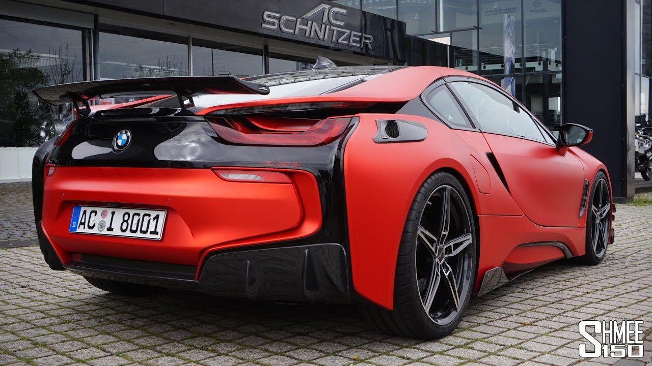 This Is A Bmw I8 The Ac Schnitzer Acs8 Bmw Bmw I8 Best Luxury Cars