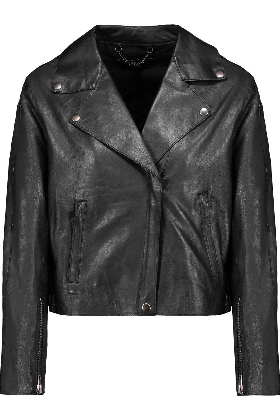 Muubaa Muubaa Cloth Jacket Biker Jacket Leather Women Leather Biker Jacket [ 1380 x 920 Pixel ]