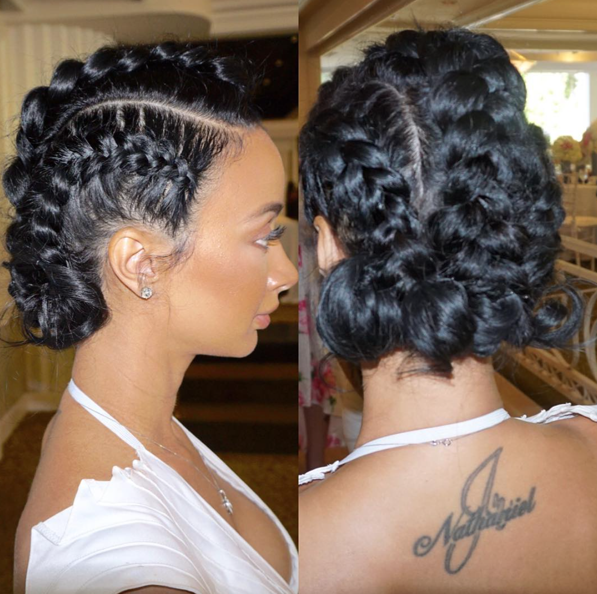 hairstyle gallery braids twists flash back drayamicheles baby shower