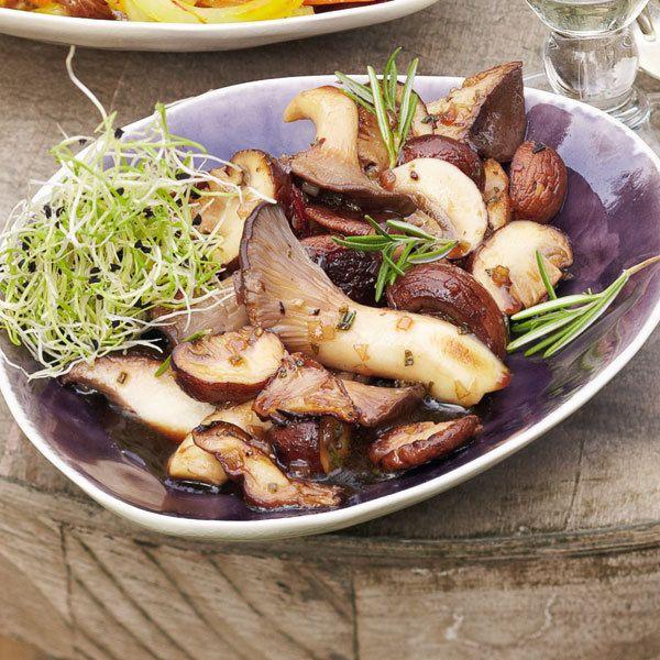 Rezept für Marinierte Pilze | Küchengötter