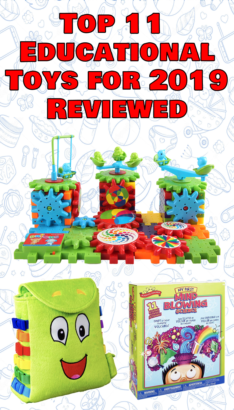Top 11 Educational Toys for 2019 Reviewed | KidsBaron ...