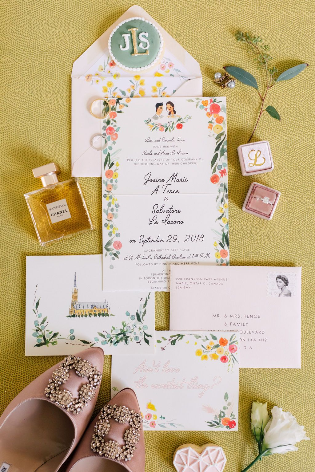 Jolly Edition Toronto Wedding Tri Fold