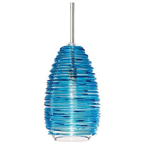 Lbl lighting vortex blue mini pendant mini pendant pendant vortex blue mini pendant lbl lighting cord mini pendant lighting ceiling lighting aloadofball Images