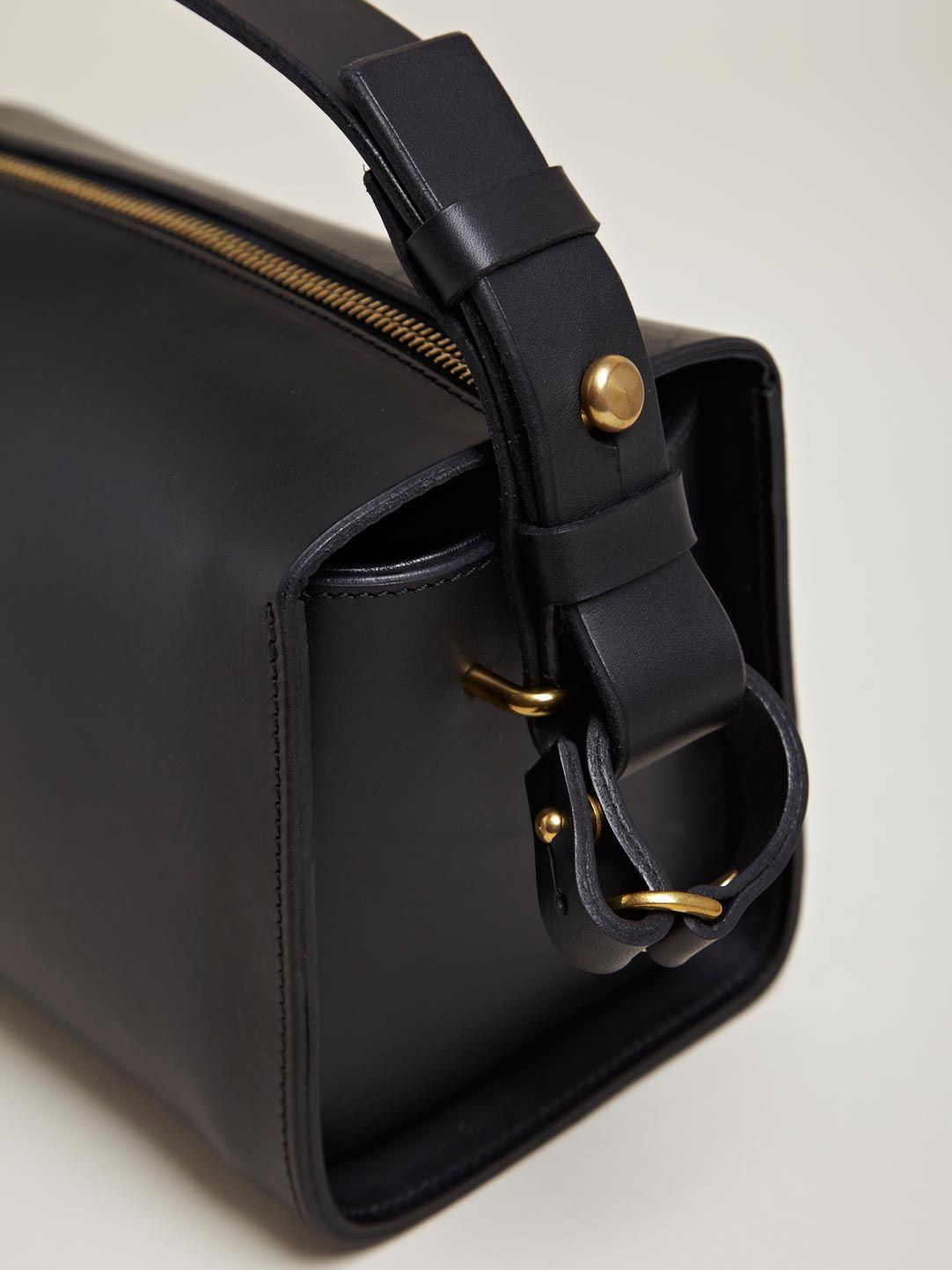 Fleet Ilya women's Box Bag from AW12 collection in black ...