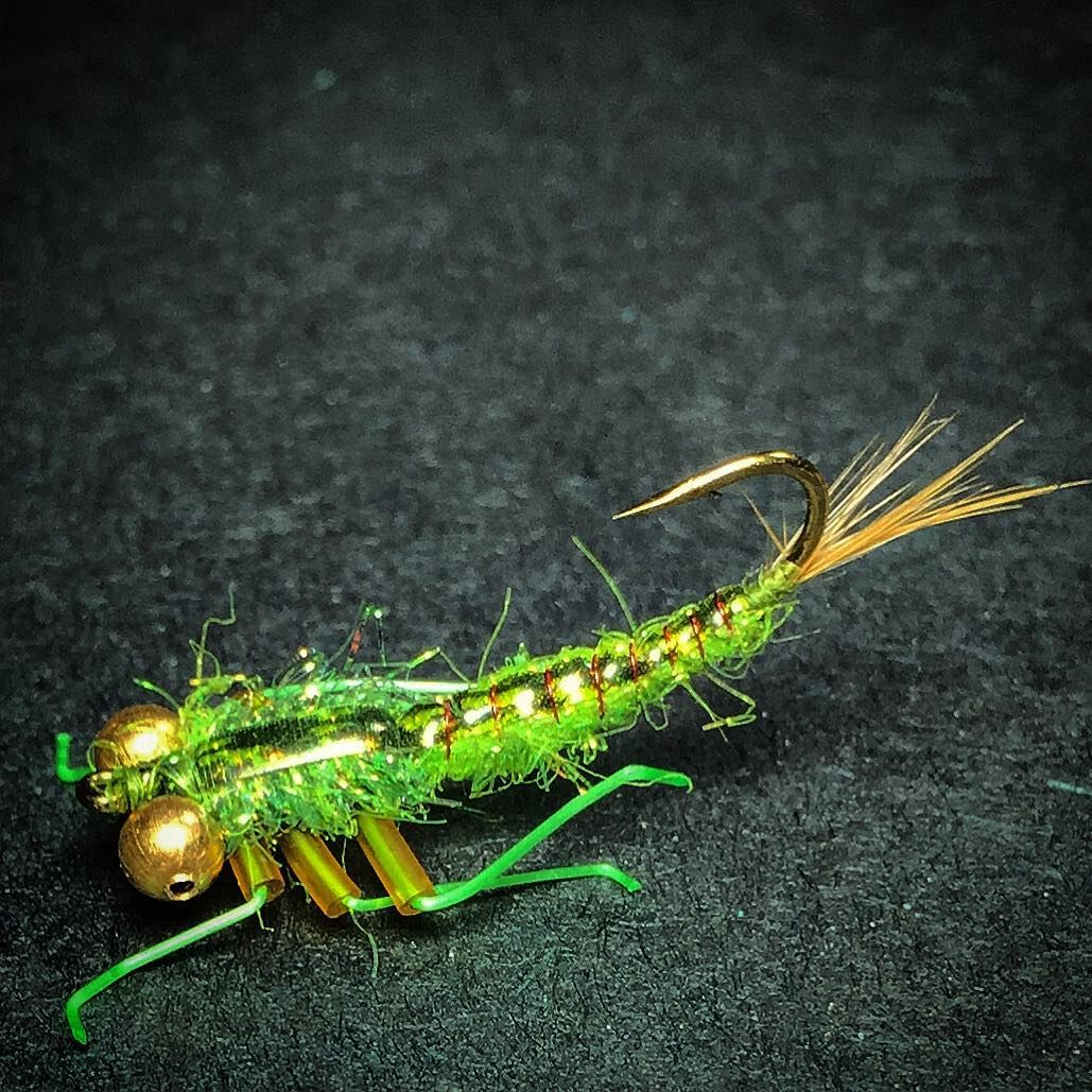 Size 8 scorpion nymph | Fly Fishing and fly tying ideas