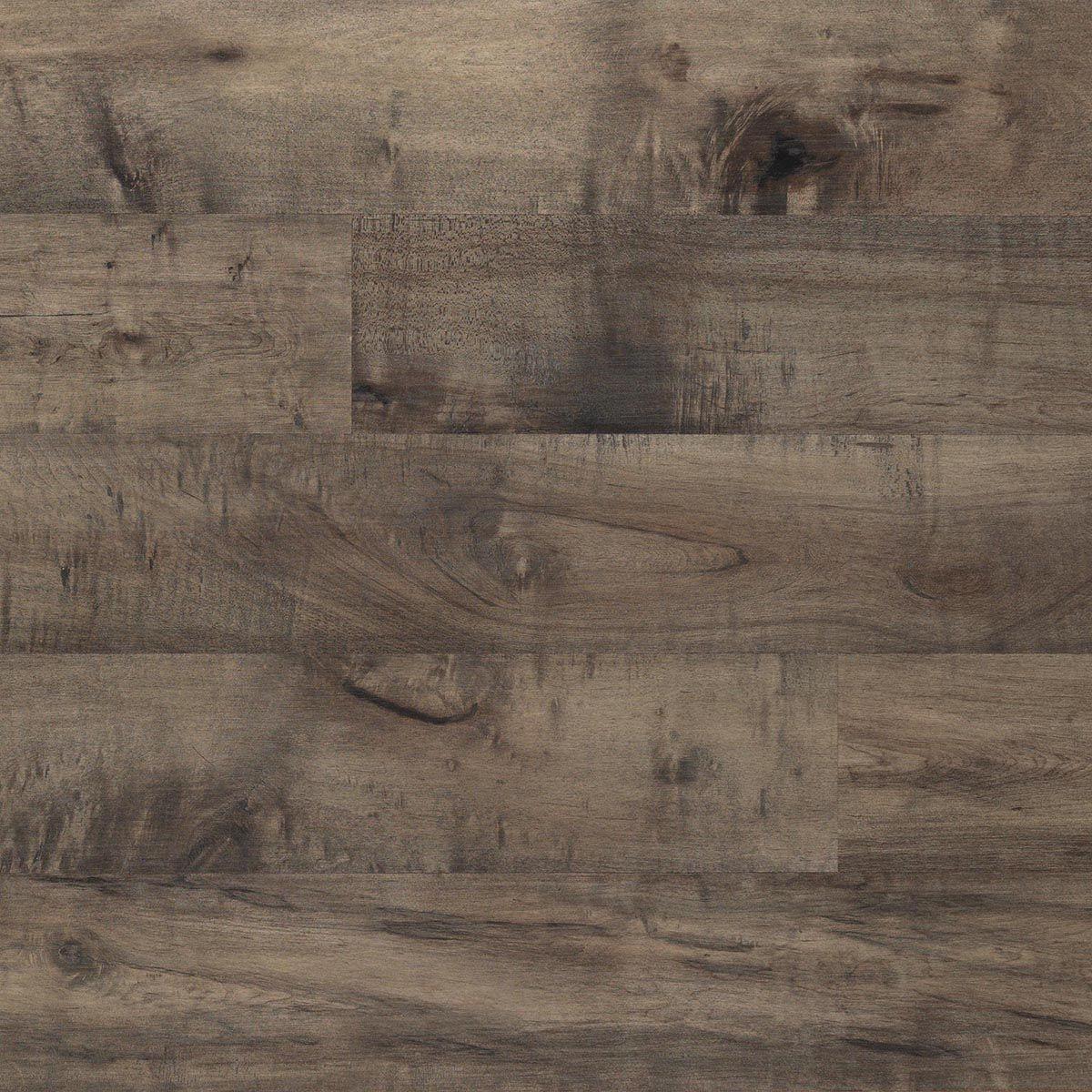 ProSource Option Dominion Smoked Maple Grey Planks QuickStep