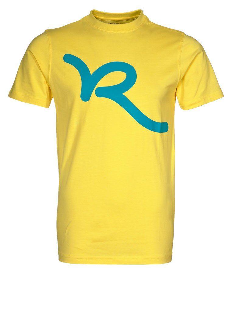 T-shirt print - butterlight yellow   ROCAWEAR FASHION!   T shirt ... b39406f41a