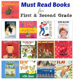 First And Second Grade Must Read Books There Are So Many Of My