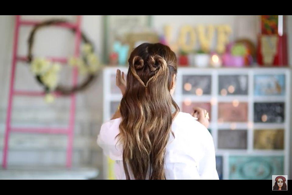 Un peinado lindo y dulce para ir a clases
