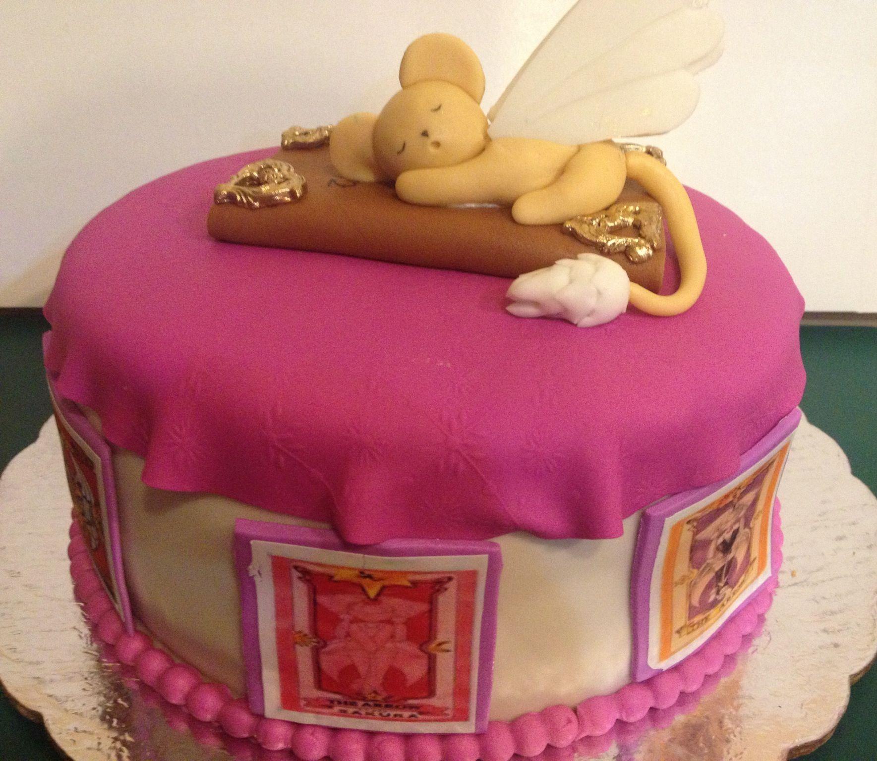 Sakura Card capture cake!!