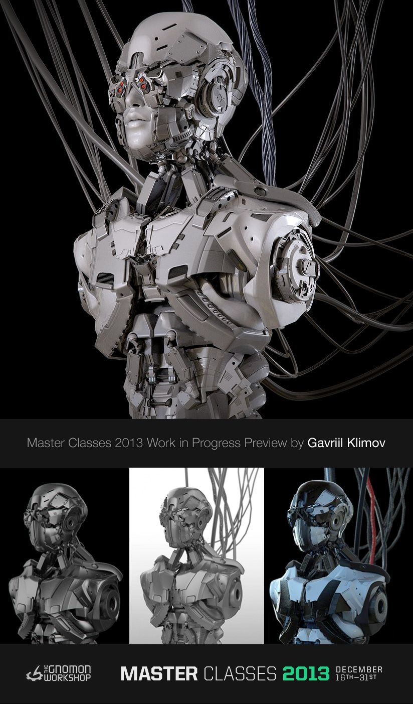 Check out this Work in Progress preview by Gavriil Klimov. This is for his upcoming class, Design Techniques for Mech Creation! http://www.hexeract.org/Senior Concept Artist Gavriil Klimov will be teaching an Online Class - Design Techniques for Mech Creation at the Gnomon School of Visual Effects this December 16th - 31st. Sign Up Today! http://goo.gl/v9H13X