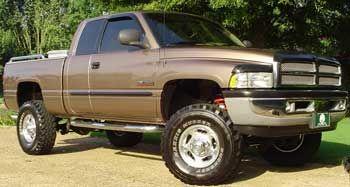 1999 Dodge ram sport quad cab:7 sky jacker suspension lift kit 3 ...