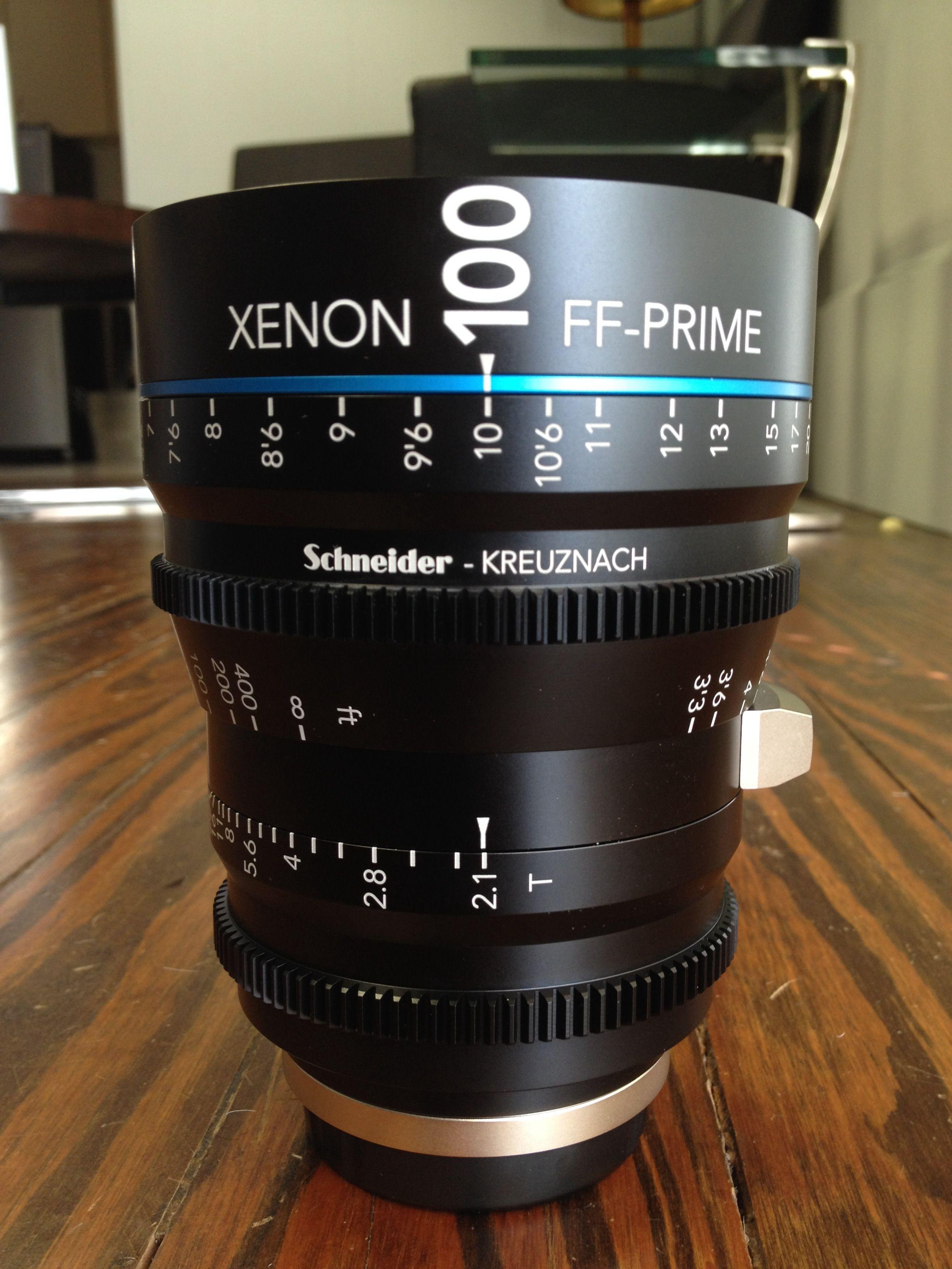 Schneider 100mm Xenon Ff Prime Xn 2 1 100 Feet Canon Texas Media Systems Camera Hacks Cinema Camera Canon Lens