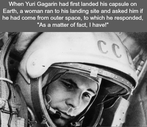 The first human to go to space(follow || PuzzleCubesWorld) - http://didyouknow.abafu.net/facts/the-first-human-to-go-to-spacefollow-puzzlecubesworld