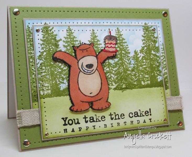 IC414 QFTD189 You Take The Cake!