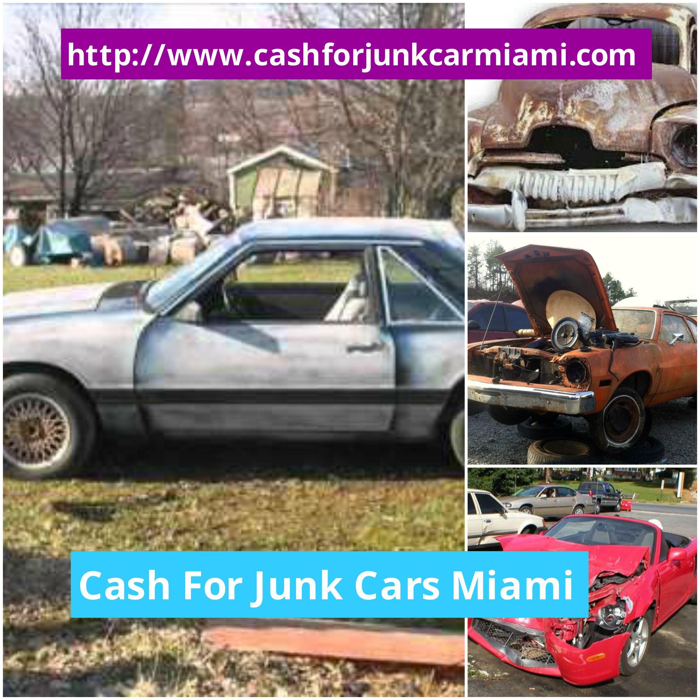 http://www.cashforjunkcarmiami.com/ Junk cars Miami FL helps people ...