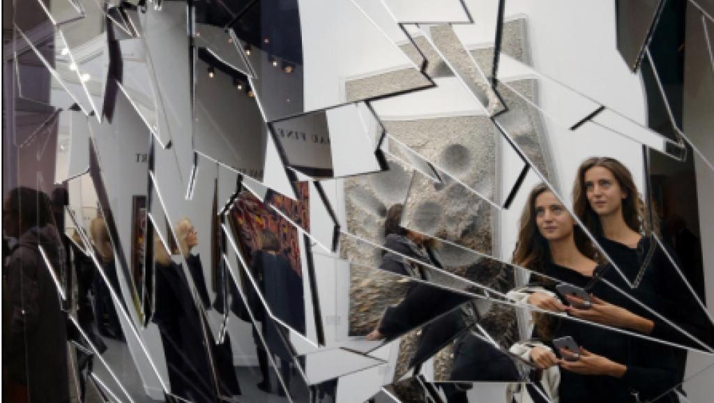 Fiac 2015 civitas solis 2015 de l artiste sud cor en for Image miroir photoshop