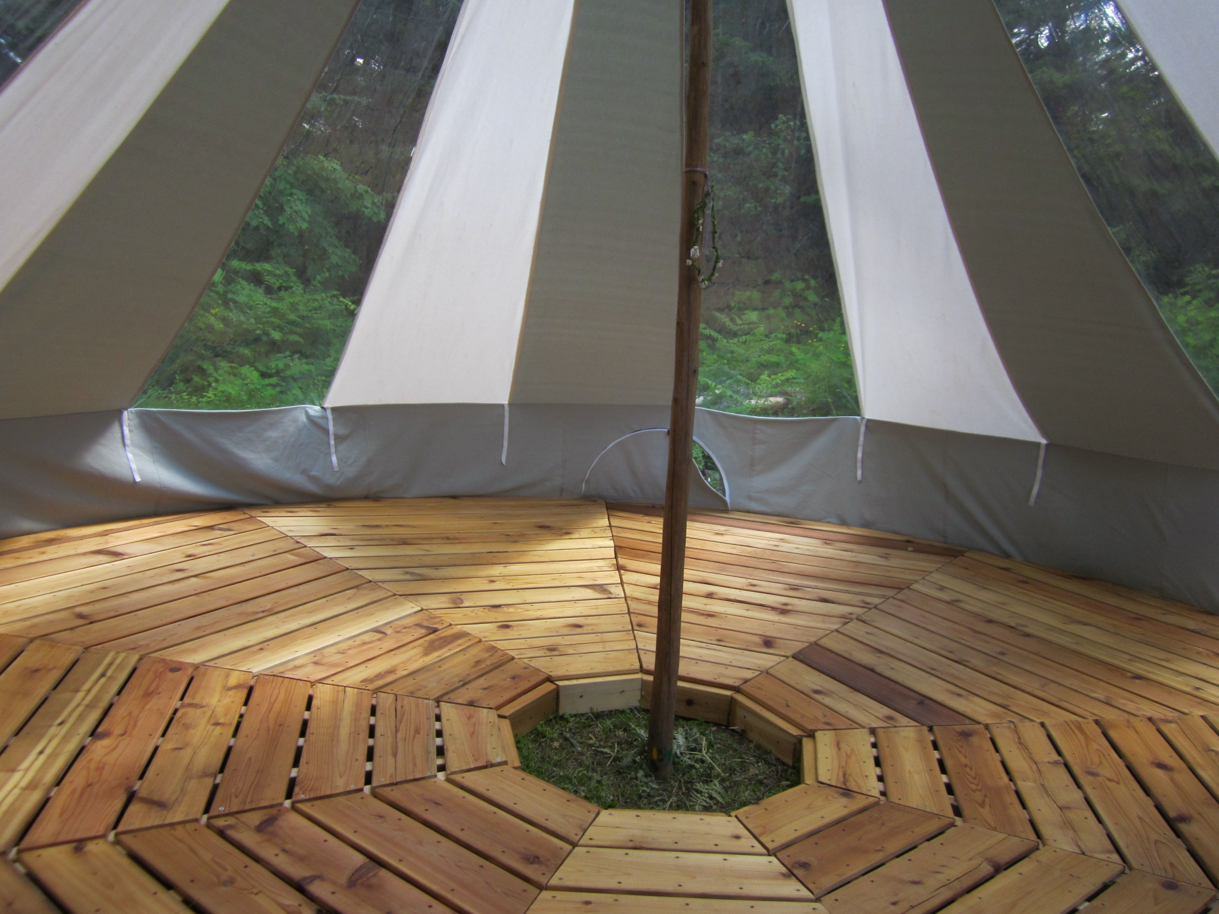 Teepee tents for sale bell tent outdoorcanvasdesigns for Belle flooring