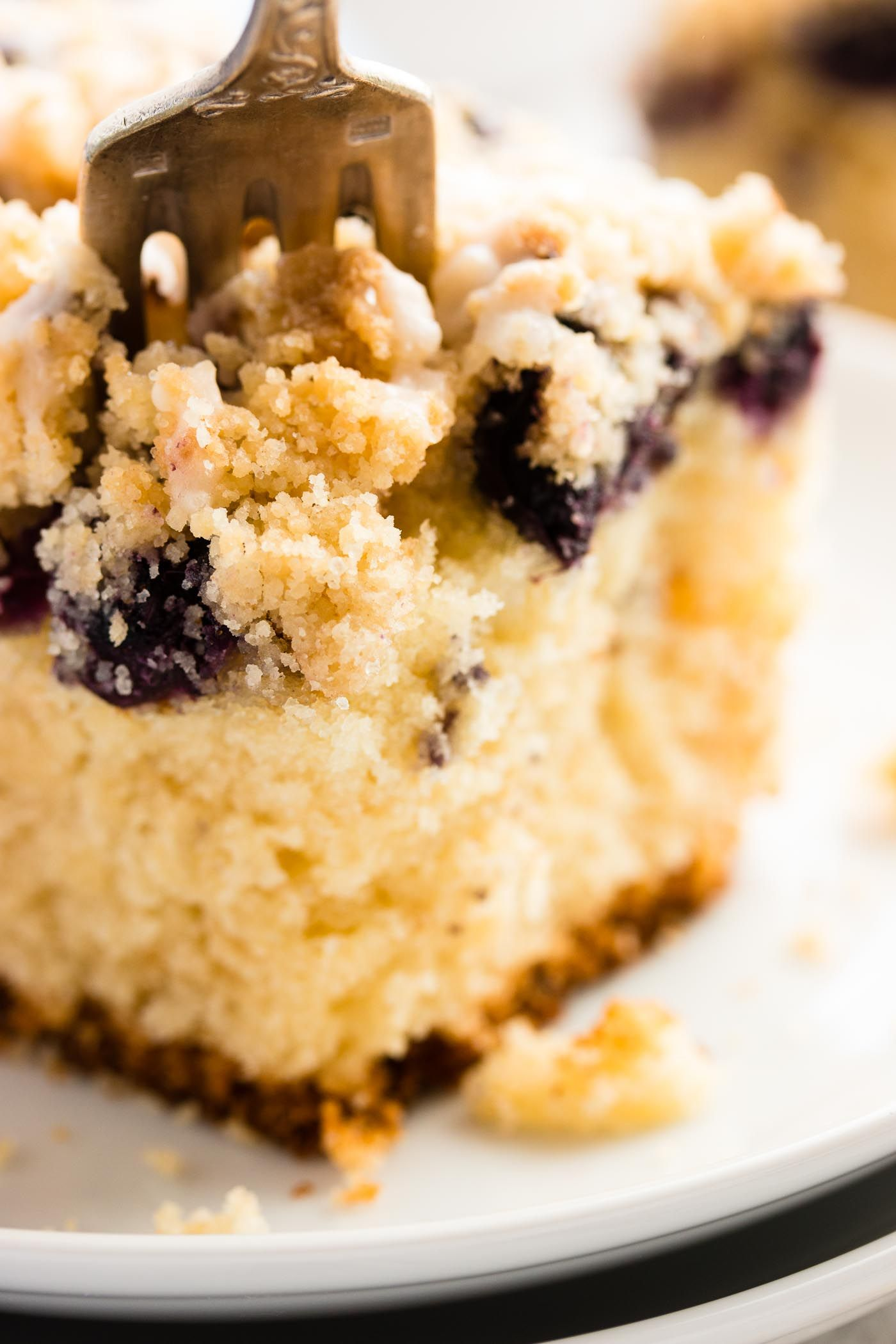 Sour Cream Lemon Blueberry Coffee Cake Savory Nothings Cake Recipe With Sour Cream Blueberry Cake Recipes Blueberry Coffee Cake Recipe