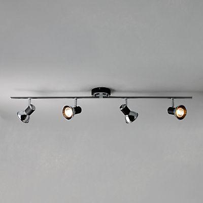 Buy john lewis lancaster 4 spotlight ceiling bar online at johnlewis buy john lewis lancaster 4 spotlight ceiling bar online at johnlewis john lewis track lightingliving aloadofball Images
