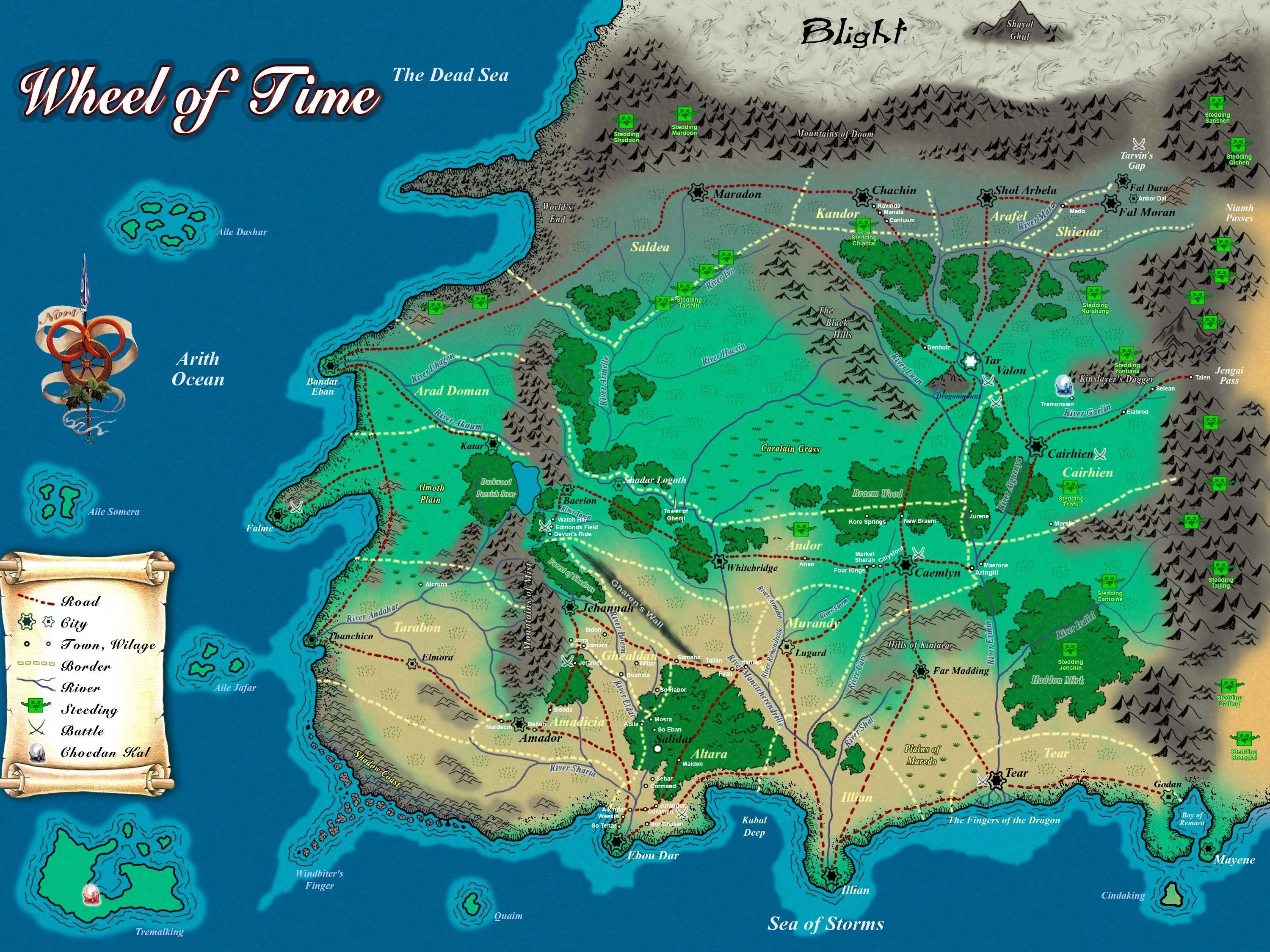 robert jordan wheel of time map  alternate history discussion board character routes. robert jordan wheel of time map  alternate history discussion