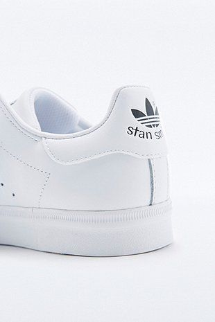 876a102a0351f Adidas Stan Smith All White Trainers - Urban Outfitters
