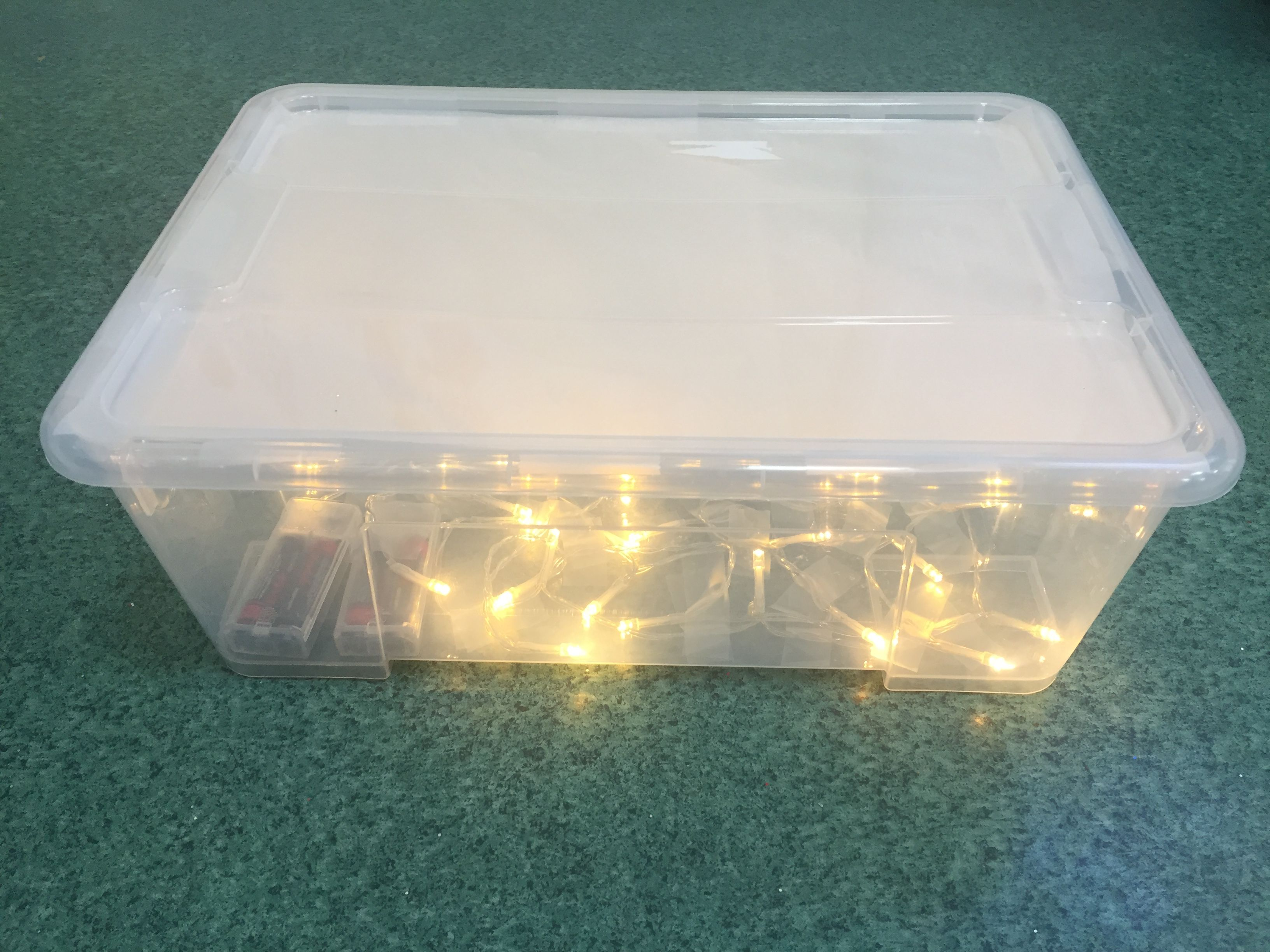 Diy Light Box For Children With Additional Needs Using A