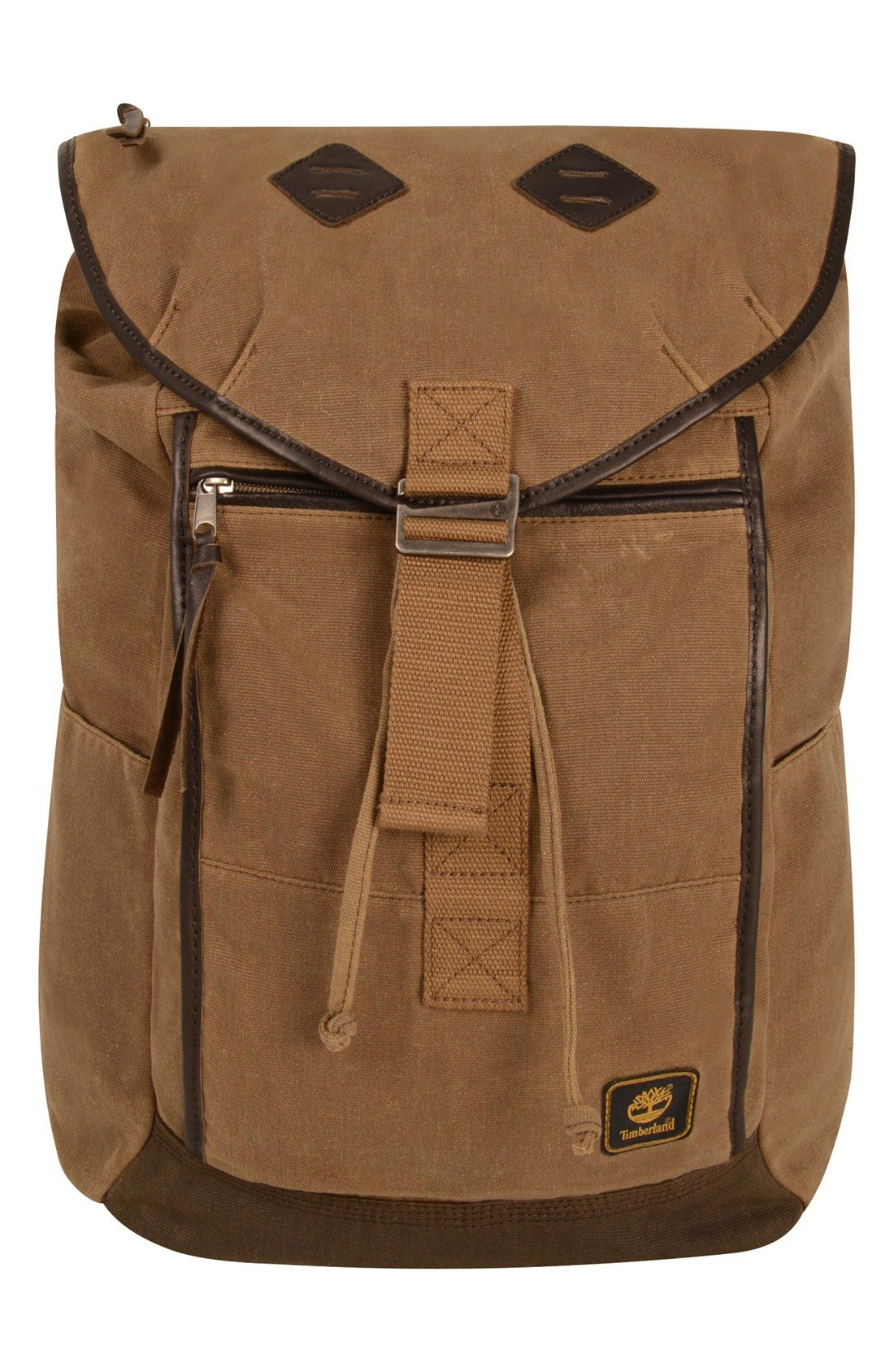 074d4204ec Timberland Madison Backpack in Brown for Men (Tan/ Brown)   Lyst ...