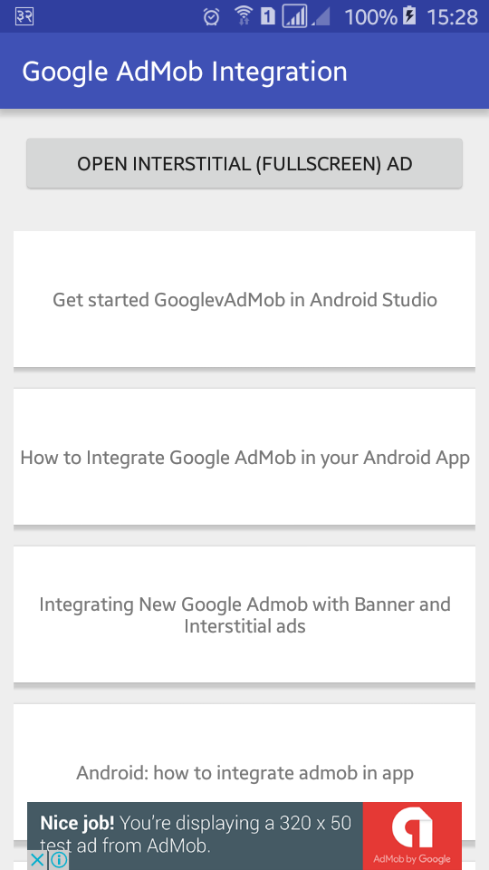 Android Integration Example: How to Integrate Google AdMob