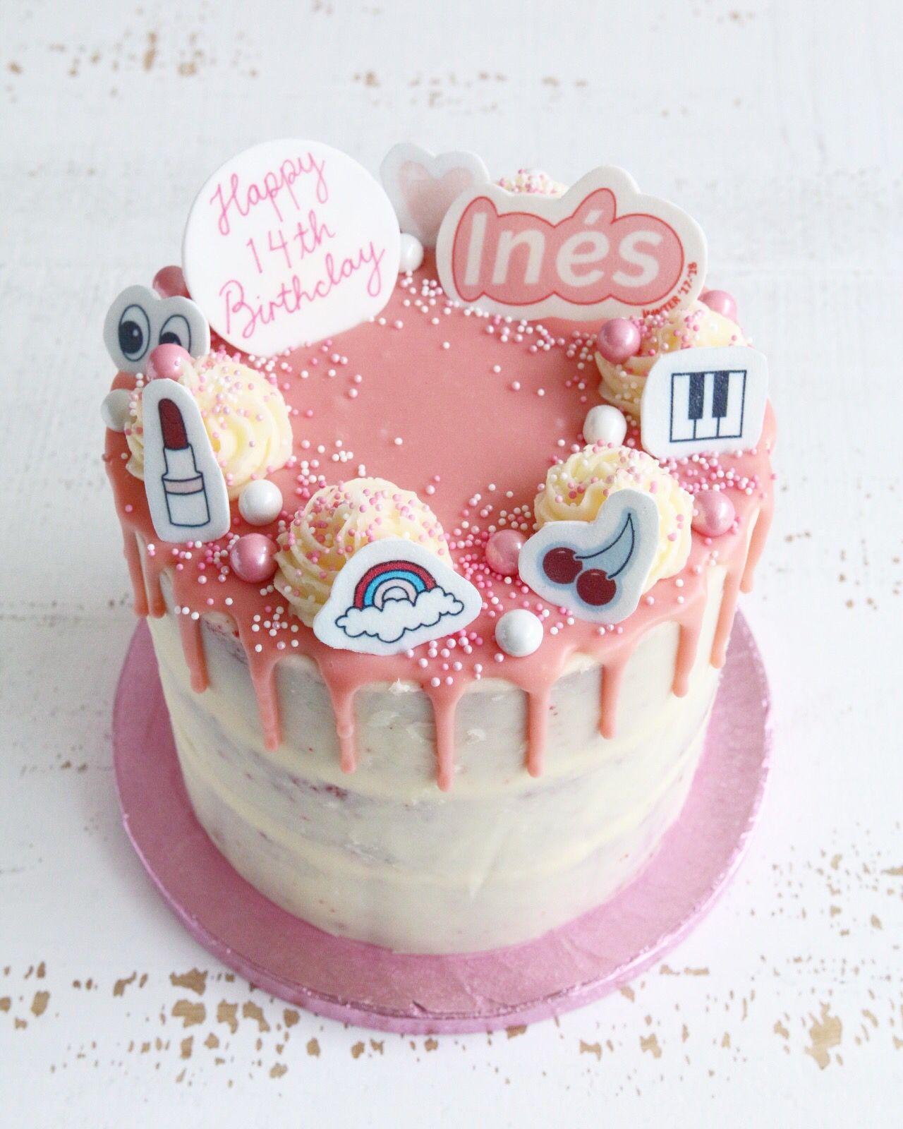 Glossier Pink Cake