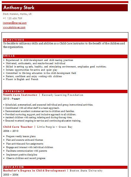 Combination Resume Sample Samples of resume provided by our