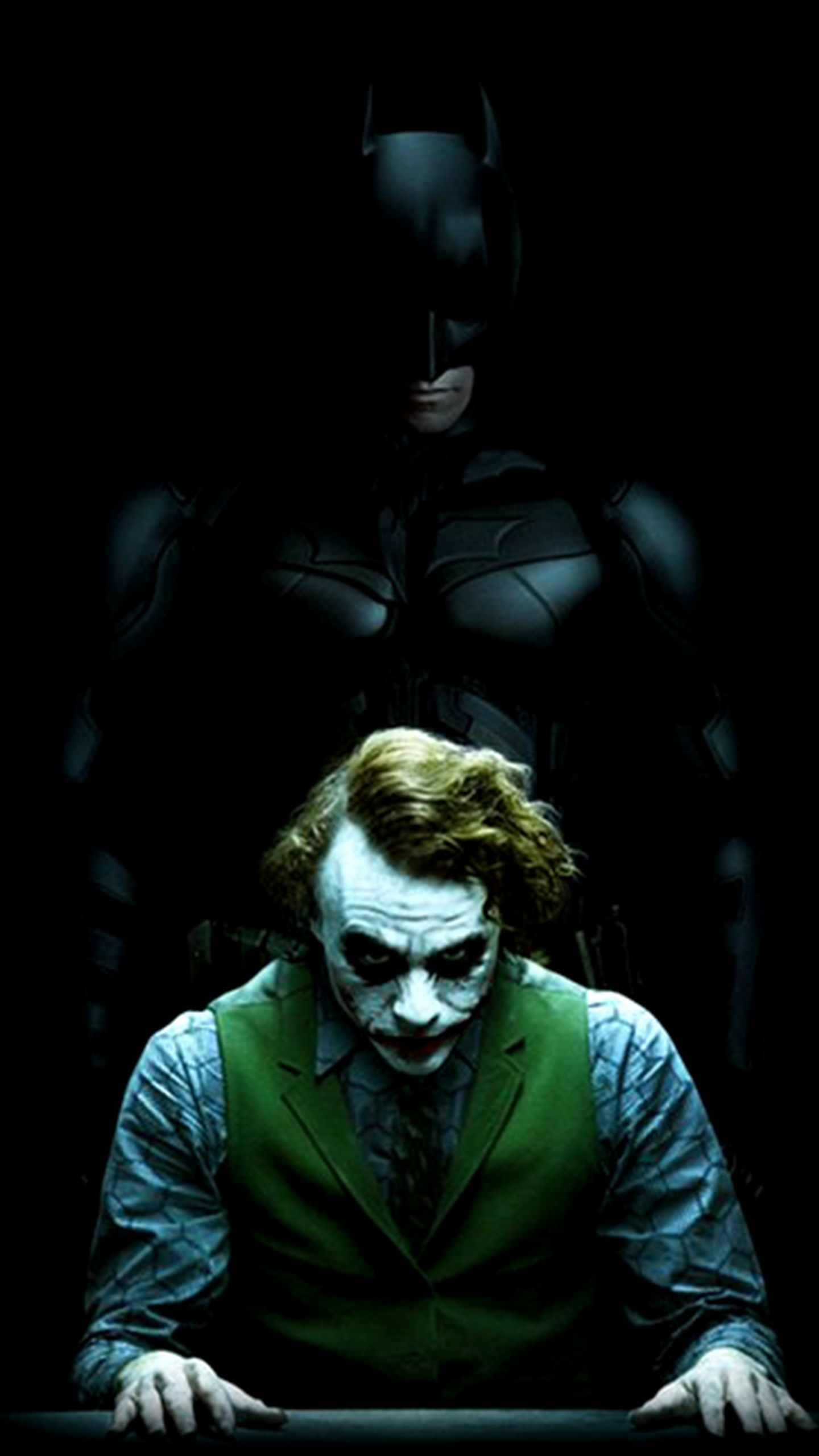 Batman Joker Amoled Lockscreen Homescreen Wallpapers Batman