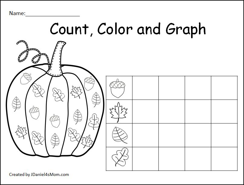 Count Color And Graph Pumpkin Sheets This Is A Set Of Free Graphing Sheets Featuring F Graphing Kindergarten Worksheet For Kindergarten Kindergarten Graphing Pumpkin worksheets for kindergarten