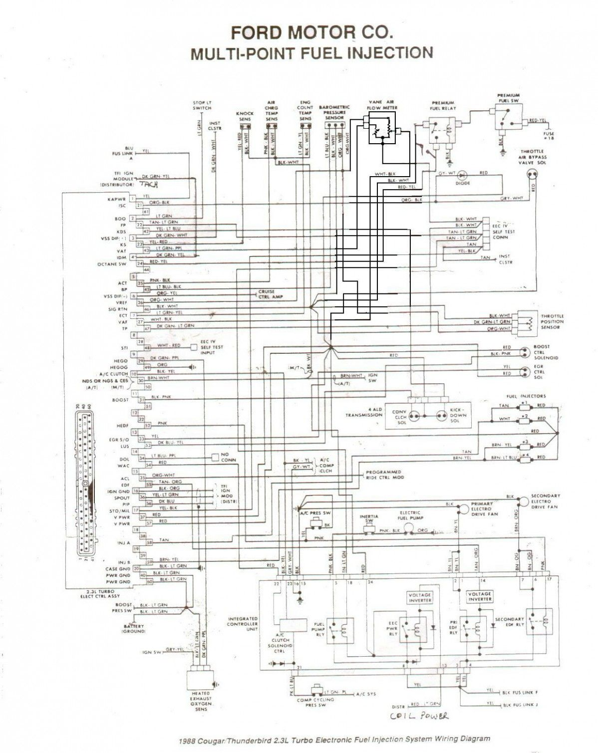 Engine Wiring Diagram For 4 Ford Ranger Raptor