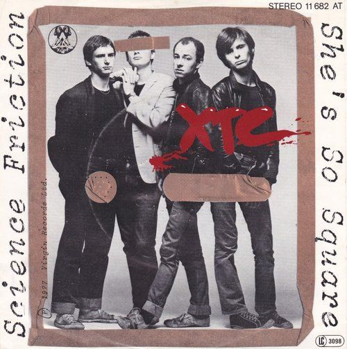 XTC - Science Fiction/She's So Square // Virgin Records, 1977 //