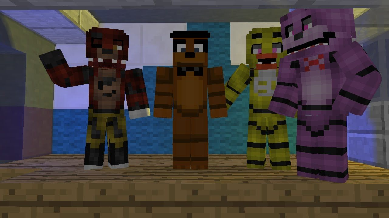 Pin By Freddy Fazbear On Minecraft Fnaf Wallpaper Five Nights At Freddy S Five Night