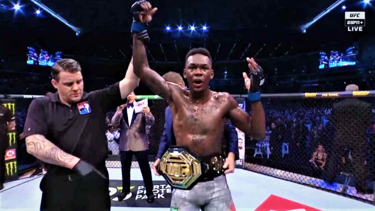 UFC 243: Adesanya knocks out Whittaker to win middleweight
