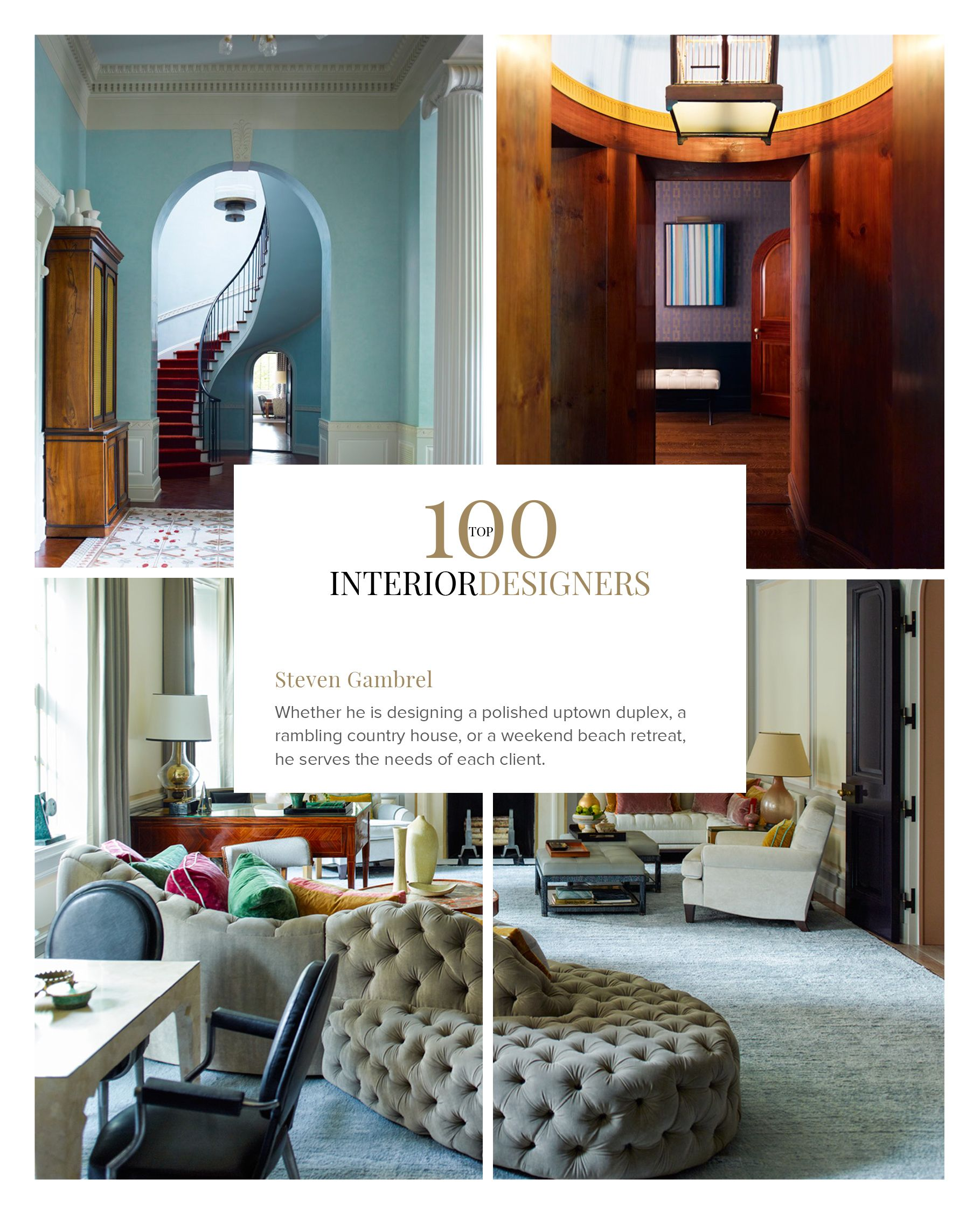 Boca do lobo and coveted magazine have selected an exclusive list featuring the best interior designers in field also by rh pinterest