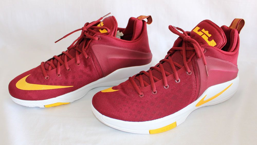 new product 3b6af 1644a NEW Nike Zoom Witness Cavaliers Lebron James Team Wine Gold 852439-601 Size  14  Nike  AthleticSneakers