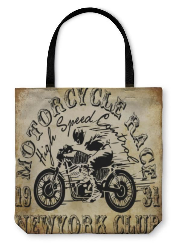 Tote Bag, Motorcycle Racing...