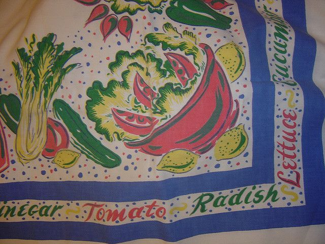 50s Tablecloth.