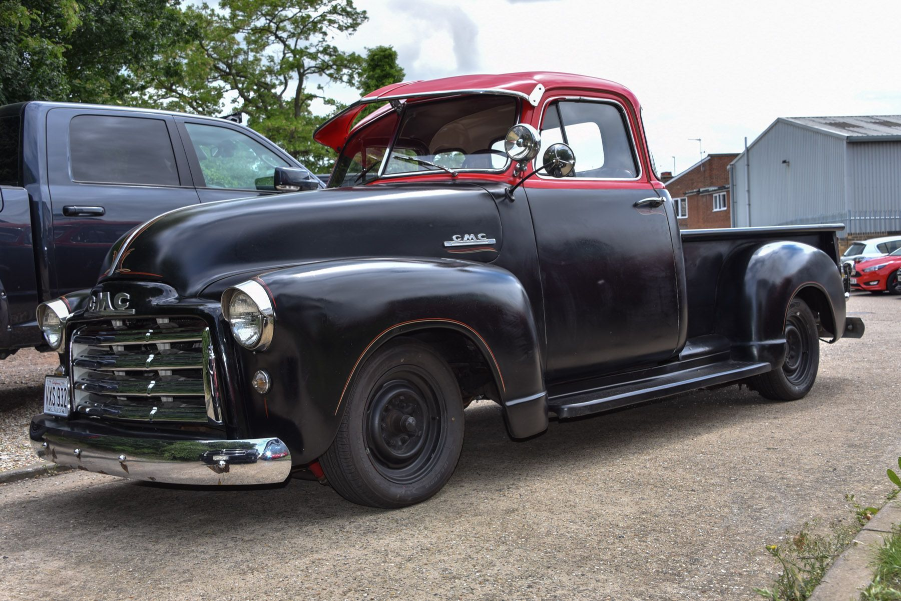 1951 Classic Americana GMC Pickup with new Chevrolet 350