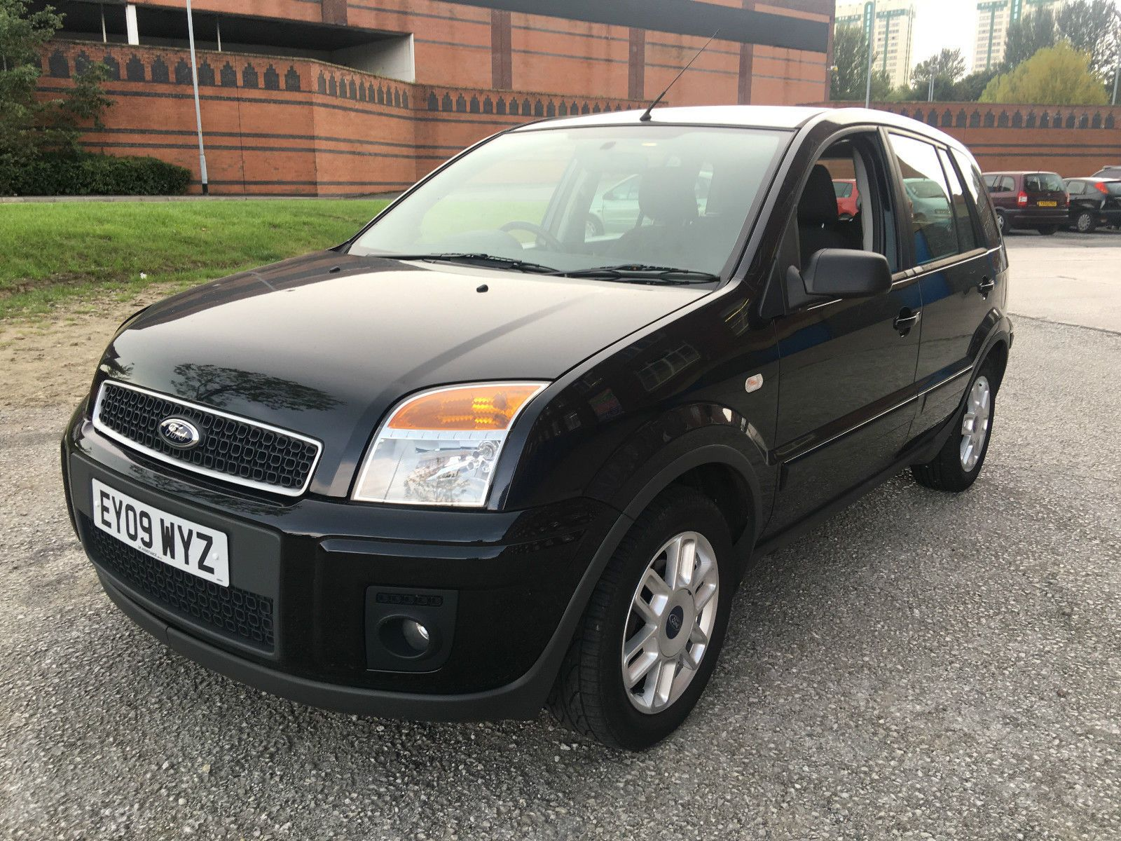 2009 Ford Fusion Zetec Climate 1 6 Tdci Black In Cars Motorcycles