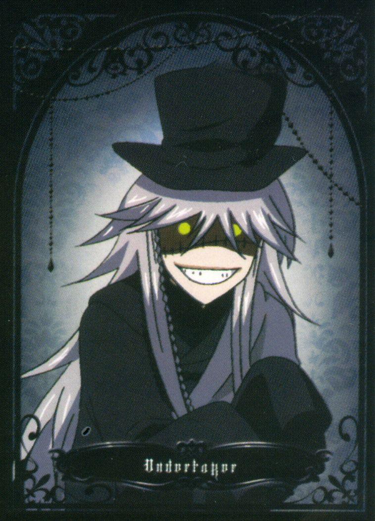 Black Butler Undertaker Face