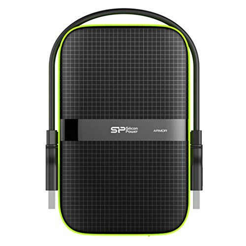 Silicon Power 500gb Rugged Armor A60 Shockproof Water Resistant 2 5 Inch Usb 3 0 Portable Portable External Hard Drive Portable Hard Drives External Hard Drive
