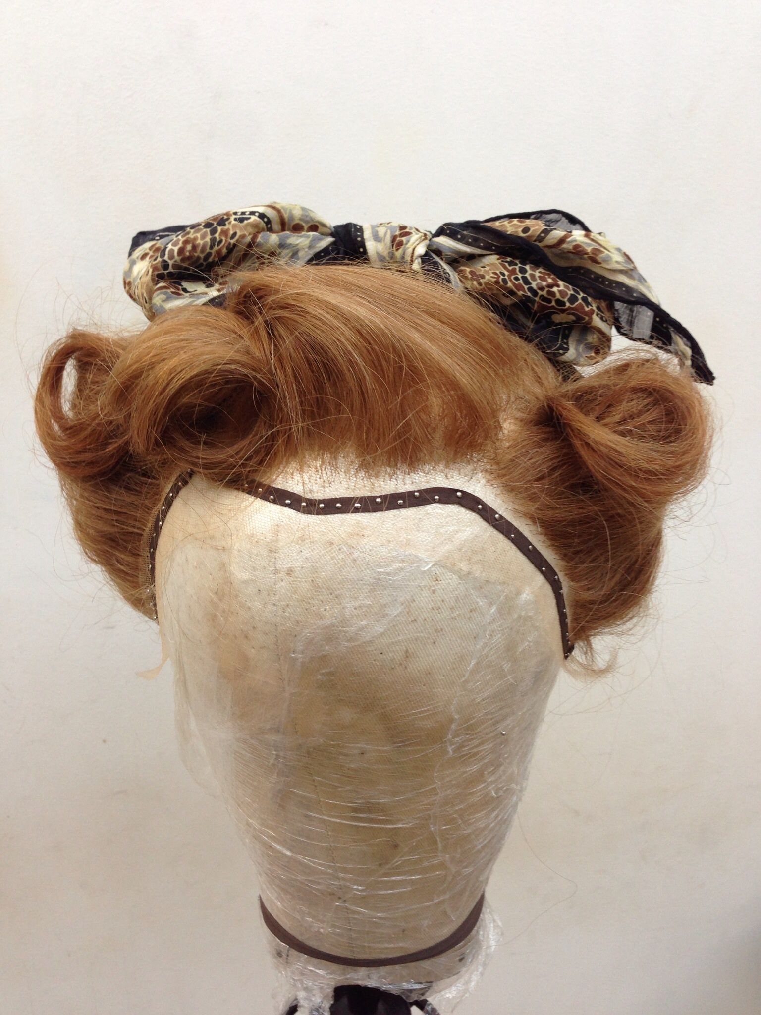 period wigs- 1940's land girls