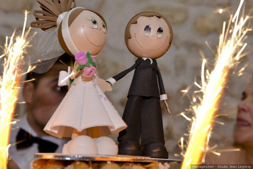 Quelles figurines pour votre g¢teau de mariage