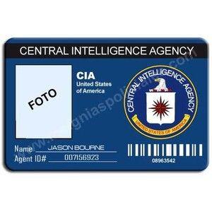 cia custom id card credenciales para personalizar 15 00