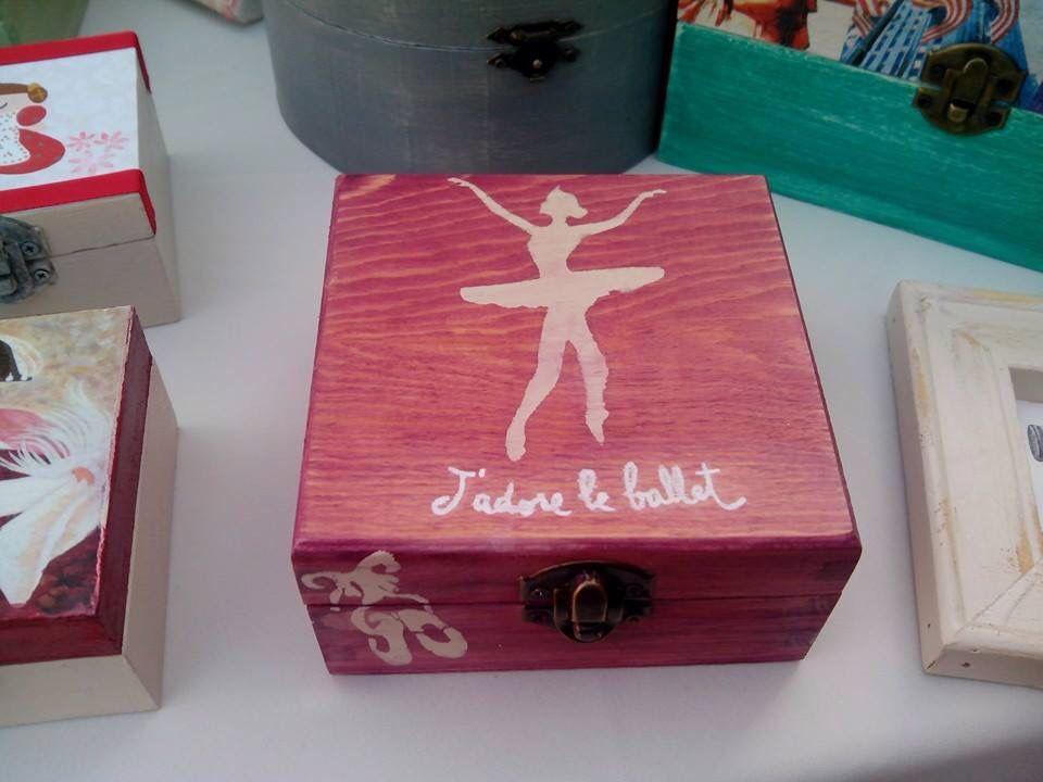 Caja ballet estencil